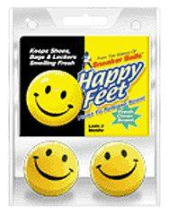 Happy Feet Sneaker Balls - 2 Pack