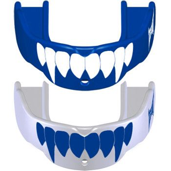 Tapout Mouthguards - 2 Pack Fang Royal White