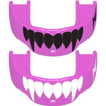 Tapout Mouthguards - 2 Pack Fang Pink Black White