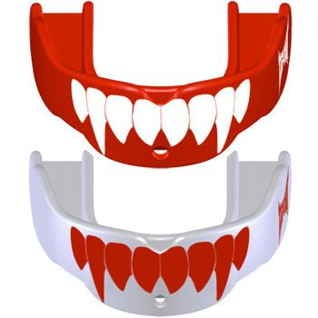 Tapout Mouthguards - 2 Pack Fang Red White