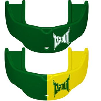 Tapout Mouthguards - 2 Pack Green Green Green Yellow