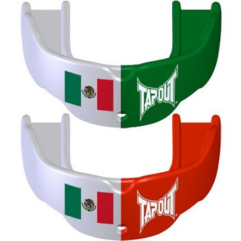 Tapout Mouthguards - 2 Pack Flag Mexico