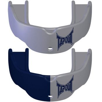 Tapout Mouthguards - 2 Pack Silver Silver Navy Silver