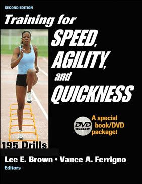 Training For Speed, Agility and Quickness - 2nd Edition - (Book and DVD)
