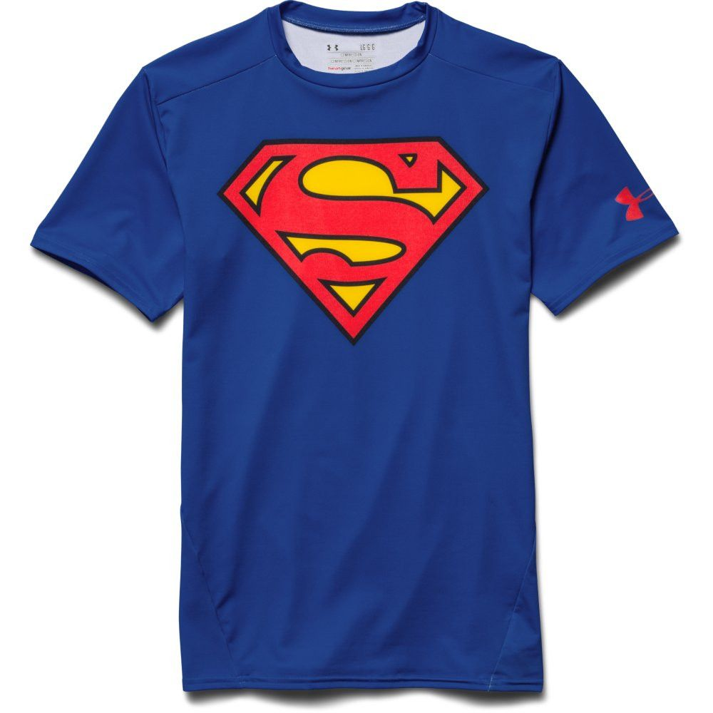 Under Armour Alter Ego Short Sleeve TShirt Superman Royal Red