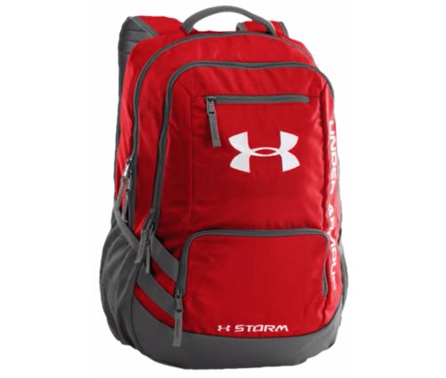 Under Armour Hustle II Backpack Red