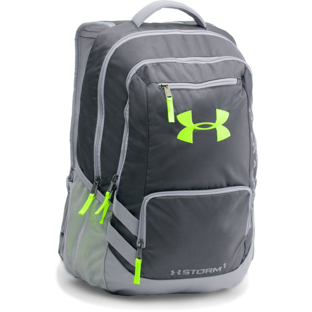 Under Armour Hustle II Backpack STY STL HYG