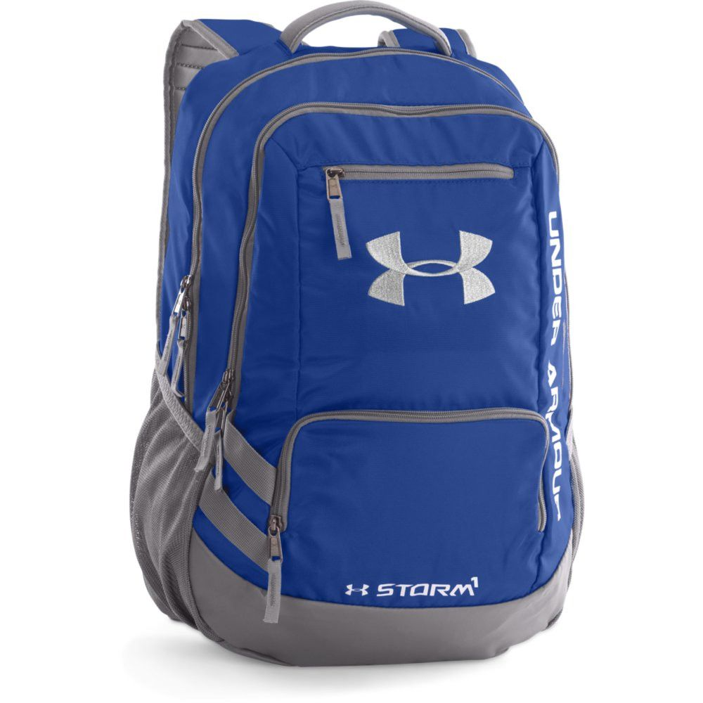 Under Armour Hustle II Backpack Royal Graphite Silver