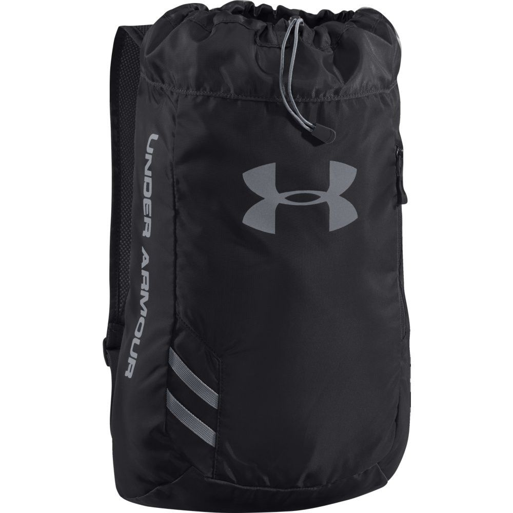 Under Armour Trance SackPack Black Black Slate