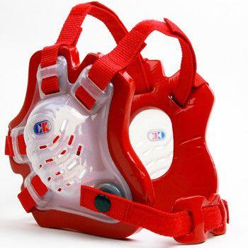 Cliff Keen Tornado Wrestling Headgear Translucent Red Red