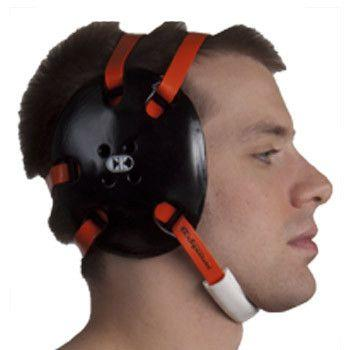 Cliff Keen Signature Headgear Black Orange