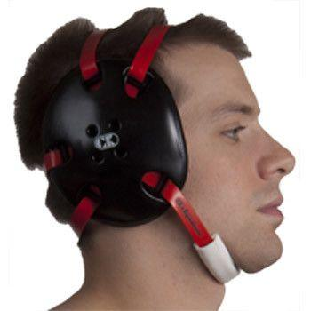 Cliff Keen Signature Headgear Black Red