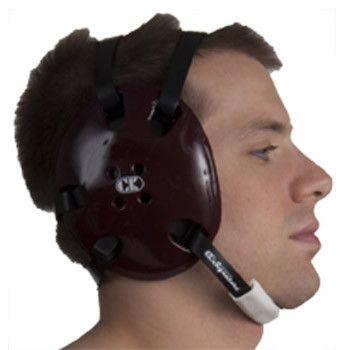 Cliff Keen Signature Headgear Maroon Black