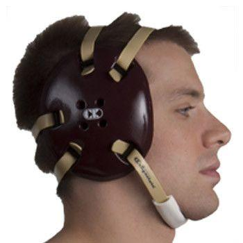 Cliff Keen Signature Headgear Maroon Vegas Gold