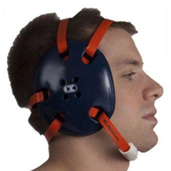 Cliff Keen Signature Headgear Navy Orange