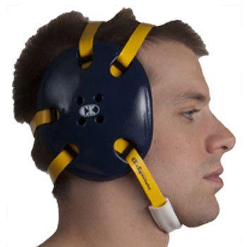 Cliff Keen Signature Headgear Navy Light Gold