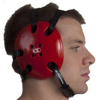 Cliff Keen Signature Headgear Red Black