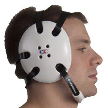 Cliff Keen Signature Headgear White Black