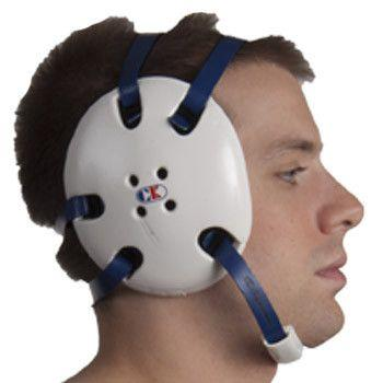 Cliff Keen Signature Headgear White Navy