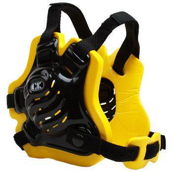 Cliff Keen Tornado Wrestling Headgear Black Light Gold Black