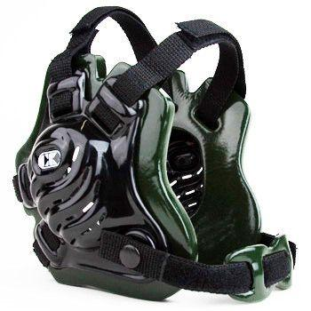 Cliff Keen Tornado Wrestling Headgear Black Dark Green Black