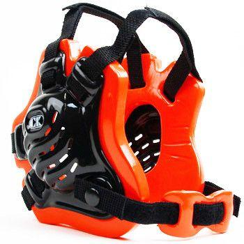 Cliff Keen Tornado Wrestling Headgear Black Orange Black