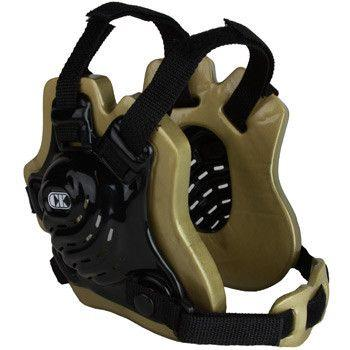 Cliff Keen Tornado Wrestling Headgear Black Vegas Gold Black