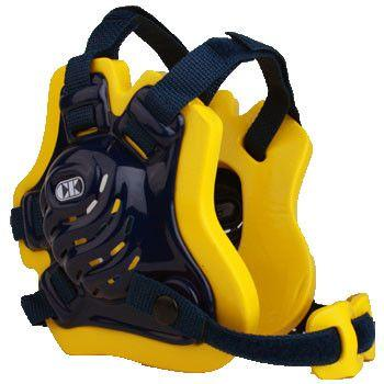 Cliff Keen Tornado Wrestling Headgear Navy Light Gold Navy