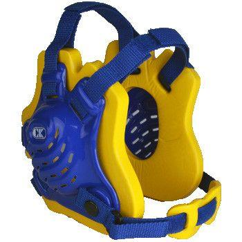 Cliff Keen Tornado Wrestling Headgear Royal Blue Light Gold Royal Blue