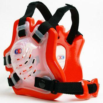 Cliff Keen Tornado Wrestling Headgear Translucent Orange Black