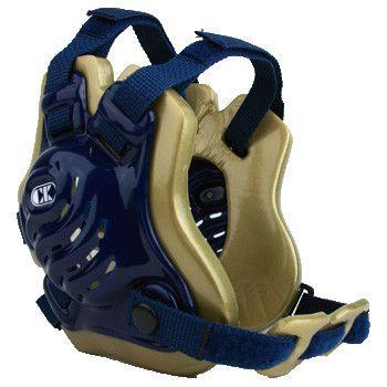 Cliff Keen Tornado Wrestling Headgear Navy Vegas Gold Navy