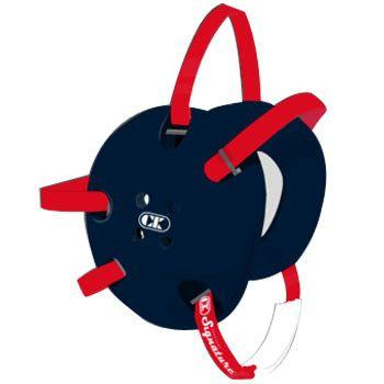 Cliff Keen Signature Navy Blue Red Wrestling Headgear
