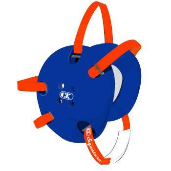 Cliff Keen Signature Headgear Royal Blue Orange