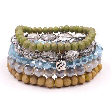 """Nantucket"" Sugarstack Bracelets"