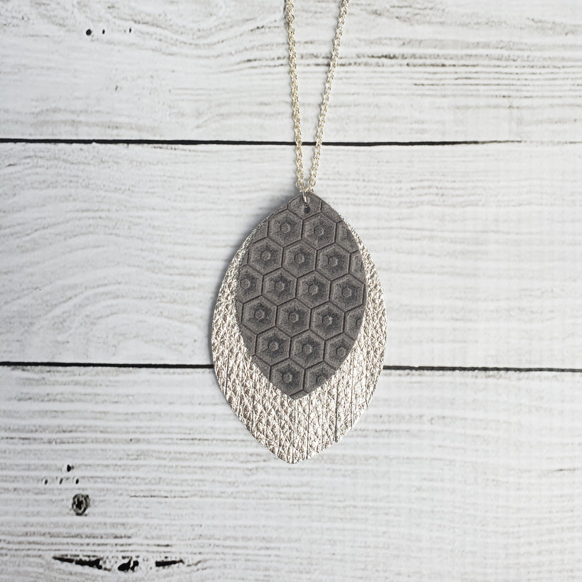 Leather Pendant Necklaces