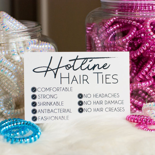Spring Break Hotline Hairties