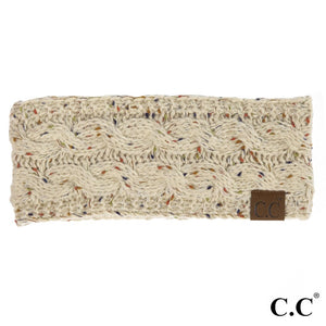 CC Knitted Headband - Oatmeal Multi