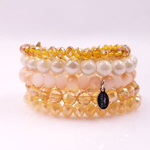 Neutral Sugarstacks Bracelets