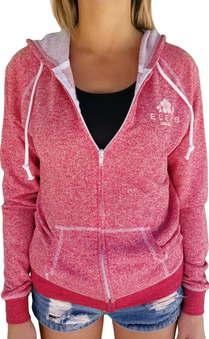 Hibiscus Zip Up