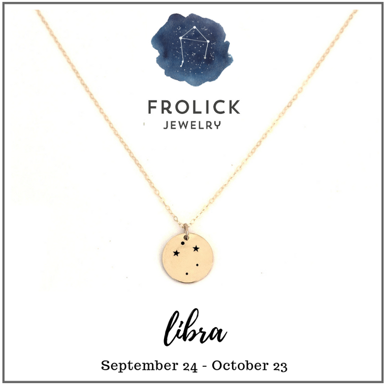Libra Constellation Necklaces