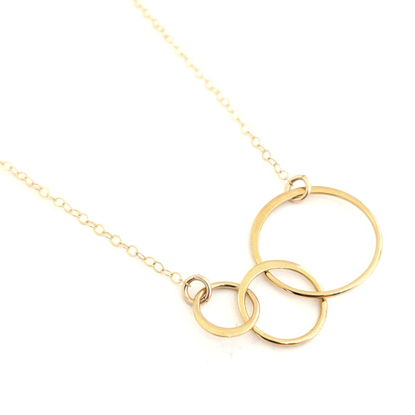Gold Marais Circle Link Necklace