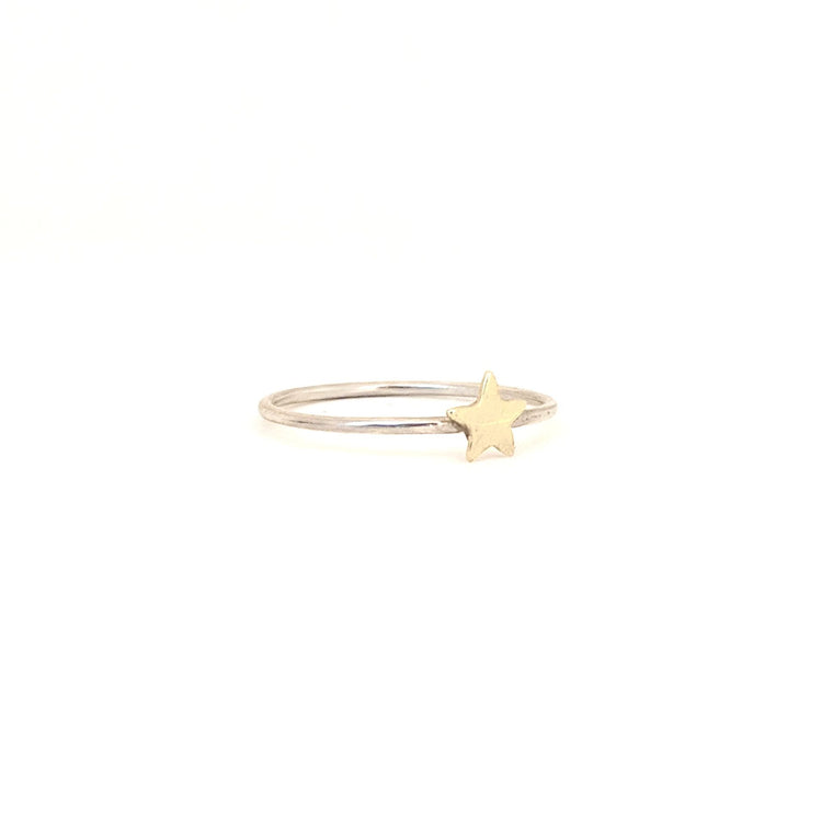 Delicate Star Ring