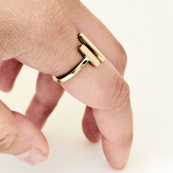 Double Bar Ring