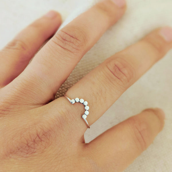 Rising Dotted Ring