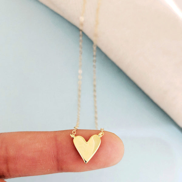 Mod Heart Necklace