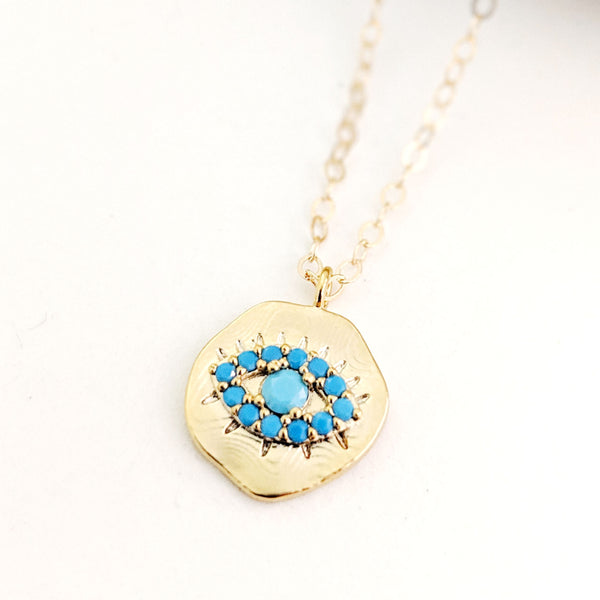 Miro Evil Eye Necklace