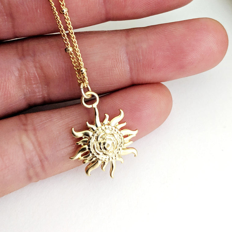 Tuscan Sun Necklace