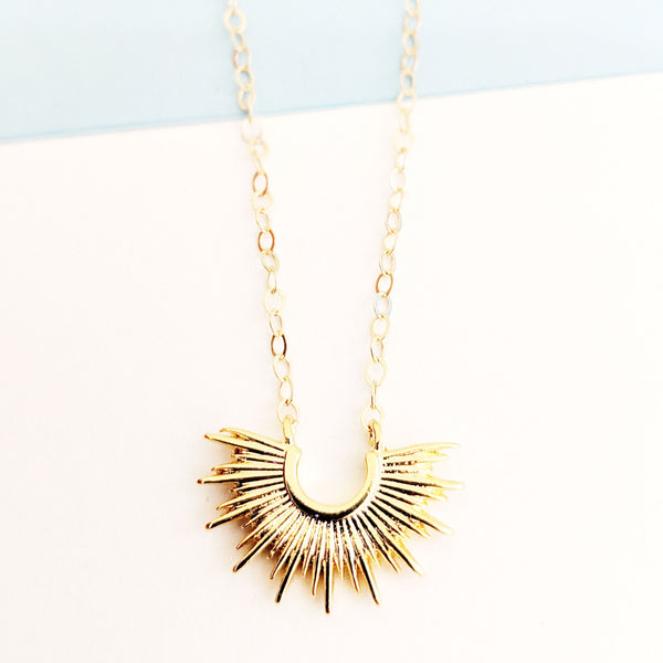 Delica Burst Necklace
