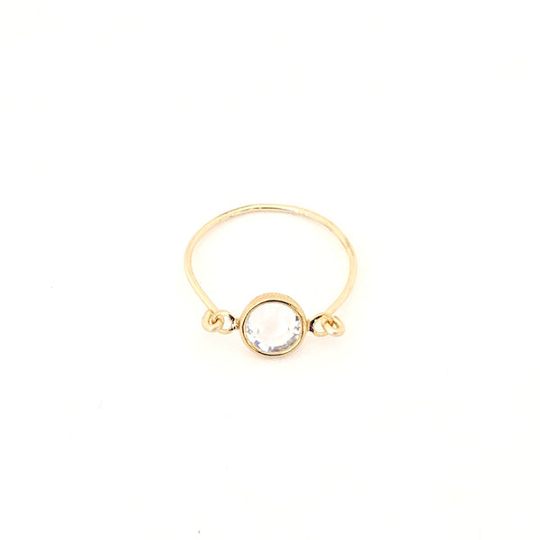 Capri Crystal Ring