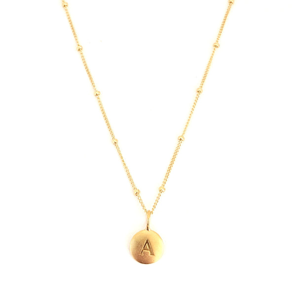 """A"" Mayfair Necklace"
